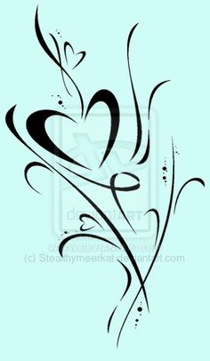 My next tattoo, replacing the 'heart' with the kids names :)