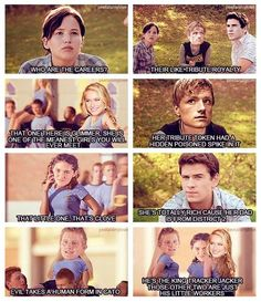 Bahaha, The Hunger Games and Mean Girls!