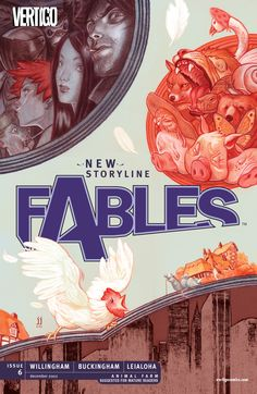 Fables Cover #6 - by James Jean ©