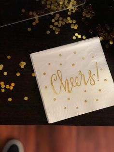 Cheers and Sequins