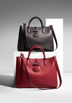 """The #Longchamp Le Pilage handbag has become the """"it"""" bag of the season! You can even design your own. Choose between different sizes and colors."""