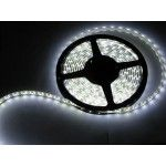 5M 3528 SMD Cool White 12v 300 LED Strip Fairy Car Home RV Light with DC jack UK