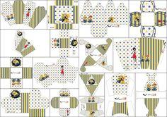 Película de los Minions: Cajas para Imprimir Gratis.