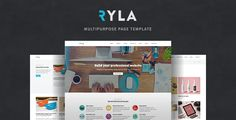 Ryla - Multipurpose Single/Multi Page Template