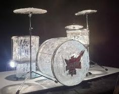 unusual drum sets - Google Search Snow And Ice, Fire And Ice, Snow Sculptures, Sculpture Art, Snow Castle, Smirnoff Ice, Ice Candy, Drums Art, Ice Art