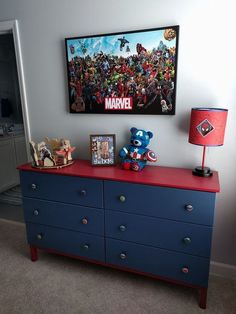 ikea boy bedroom hacks boys bedroom ideas for small rooms boy's bedroom color id. - ikea boy bedroom hacks boys bedroom ideas for small rooms boy's bedroom color ideas - Ikea Boys Bedroom, Boys Superhero Bedroom, Boys Bedroom Colors, Big Boy Bedrooms, Small Room Bedroom, Small Rooms, Bedroom Hacks, Marvel Bedroom Decor, Diy Bedroom