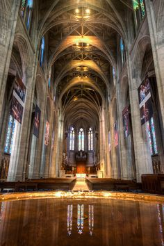 grace cathedral san francisco | Grace Cathedral Nave, San Francisco | Dave Wilson Photography