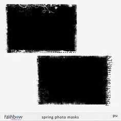 Scrapbooking TammyTags -- TT - Designer - Rainbow Scrapbook Designs, TT - Item - Photo Mask