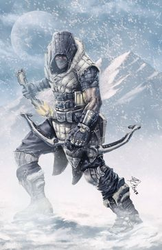 Iced Outlaw by Rob-Joseph on deviantART