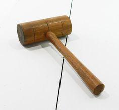 Vintage Hellenberg Wood Mallet 12 1/4L Wooden Mallet | Etsy Garage Tools, Mccoy Pottery, Hand Tools, I Shop, I Am Awesome, Household, Etsy Seller, Wood, Vintage
