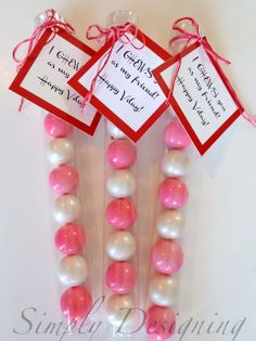 I CHEWS You As My Friend! Cute idea for tag to go with bagged up gumballs.