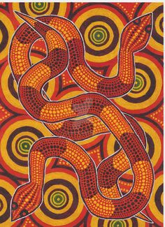 Aboriginal Snakes by derng