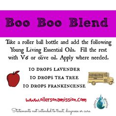 Boo Boo Blend With E
