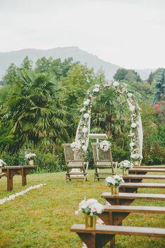 #wedding #mariage #arche #ceremony #weddingceremony #flower #fleurs