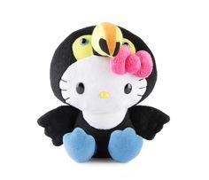 """Hello Kitty 8"""" Plush: Toucan"""