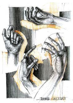 Hand Study on Behance