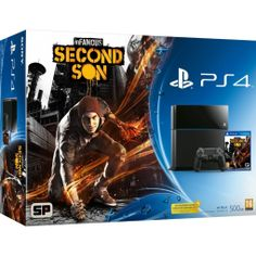 Console PS4 InFamous Second Son - 500 Go #PS4 #PlayStation4 #InFamous #SecondSon #InFamousSecondSon