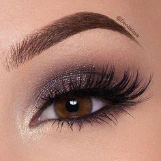 Spectacular Single eyeshadow pot Simply recreate this eye make-up through. Denitslava Makeup, Makeup Eye Looks, Cute Makeup, Makeup For Brown Eyes, Smokey Eye Makeup, Makeup Goals, Gorgeous Makeup, Makeup Inspo, Makeup Inspiration