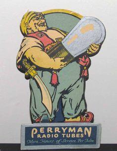 Perryman radio tubes