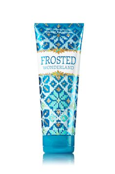 FROSTED WONDERLAND 24 Hour Moisture Ultra Shea Body Cream - Cozy up with an irresistible blend of warm praline, snow-kissed jasmine & iced ginger Bath N Body Works, Body Wash, Bath And Body, Shea Body Butter, Whipped Body Butter, Perfume Body Spray, Cream Baths, Best Lotion, Ultra Shea Body Cream