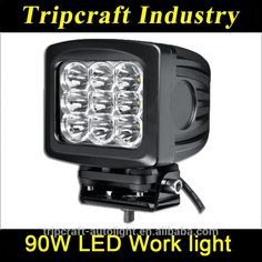 Wholesale 12V Offroad Bowfishing Tractor SUV Marine Lights IP67 90w Led  Work Light