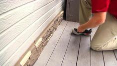 NextStone Country Ledgestone in. Teton Buff Faux Stone Siding Panel - The Home Depot Stone Siding Panels, Faux Stone Siding, Stone Veneer Panels, Faux Stone Panels, Brick Projects, Dover White, Brick Paneling, Stone Columns, Decorative Wall Panels