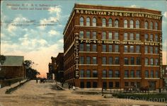 Canal Street Redevelopment Manchester NH | ... Sullivan's Cigar Factory and Canal Street Manchester New Hampshire