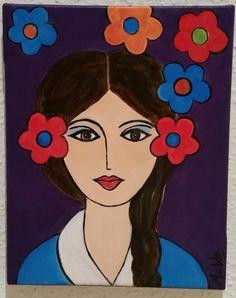 Pintura de Maribel Moratilla. En propiedad de Lourdes omella
