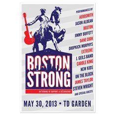 Check out Boston Strong Poster on @Merchbar.