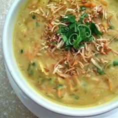 "Vegan Red Lentil Soup I ""Run, don't walk, to buy the ingredients to make this! This is the BEST soup I've found on this site!"""
