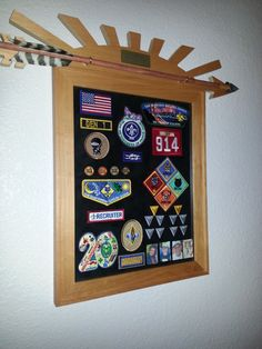 Our Webelos Arrow of Light award.