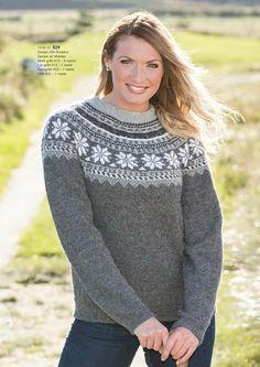 Katalog 1416 - Viking of Norway Knit Cardigan Pattern, Sweater Knitting Patterns, Knitting Ideas, Norwegian Knitting, Fair Isle Knitting, Alpacas, Cute Sweaters, Knitted Hats, Free Pattern