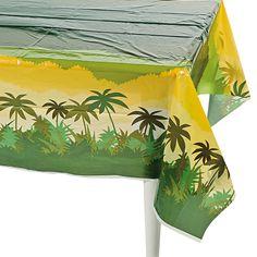 Safari Tablecloth - OrientalTrading.com
