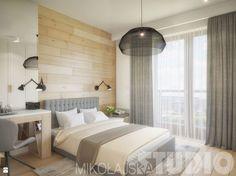 sypialnia w drewnie - zdjęcie od MIKOŁAJSKAstudio - Sypialnia - Styl Skandynawski - MIKOŁAJSKAstudio