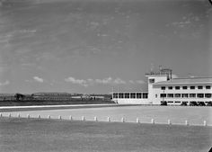 Aeroporto da Portela, Lisboa (H. Novaes, c. 1943) Lisbon Airport, Iberian Peninsula, Atlantic Ocean, Capital City, Portuguese, Old World, Spain, Europe, Country