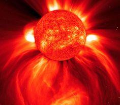 el sol enredado en uno de los brazos de la via lactea