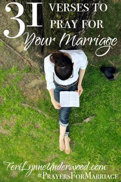 31 Verses to Pray for Your Marriage ... let's start this year with a renewed zeal for marriage!! #PrayersForMarriage