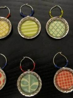 Create these super easy DIY Wine Charms for a fun summer craft!