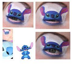 Makeup your Jangsara: Disney's Lilo and Stitch makeup!