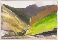 Major exhibition of British landscape artist Norman Ackroyd RA opens at The Fine Art Society Landscape Artwork, Landscape Drawings, Contemporary Landscape, Abstract Landscape, Seascape Paintings, Green Paintings, Norman Ackroyd, Art Society, Art Pictures