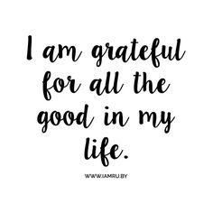 Say it with me... #gratitude #affirmation