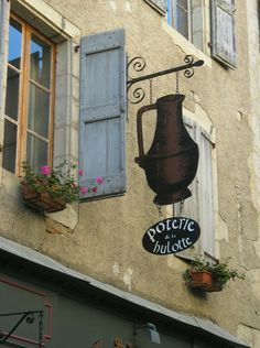 Poterie Sign