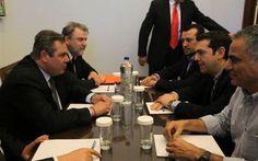 Απο την την τριμερή στην διμερή - Συμφωνία σε τρία ζητήματα ΣΥΡΙΖΑ - Ανεξάρτητων Ελλήνων