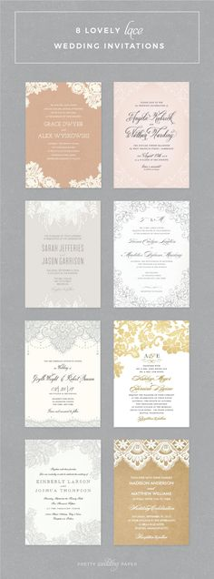 Unique Modern Wedding Invitations in a variety of styles Find