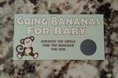 20 Monkey Scratch Off Tickets by msmemories101 on Etsy