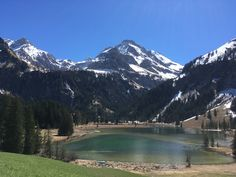 Lauenensee in the summertime