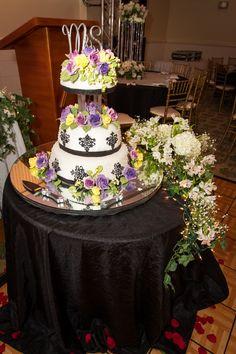 My wedding cake  Inspired by Khloe Kardashian's Wedding Cake