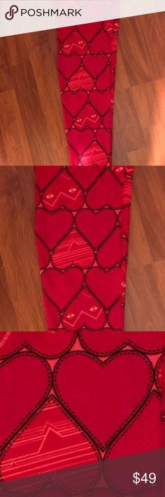 Valentine ♥️ Leggings So cute and cozy for Valentine's Day ♥️🌹♥️ LuLaRoe Pants Leggings