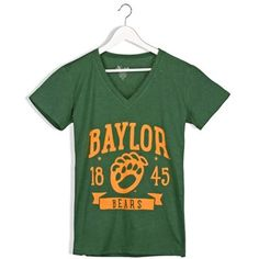 552ec0ef $39 Baylor University, Bear T Shirt, Green And Gold, Banner, Plus Size