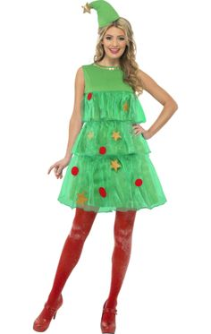 Christmas Tree Dress | Jokers Masquerade